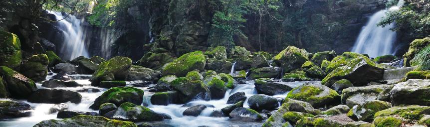 熊本県の阿蘇小国郷