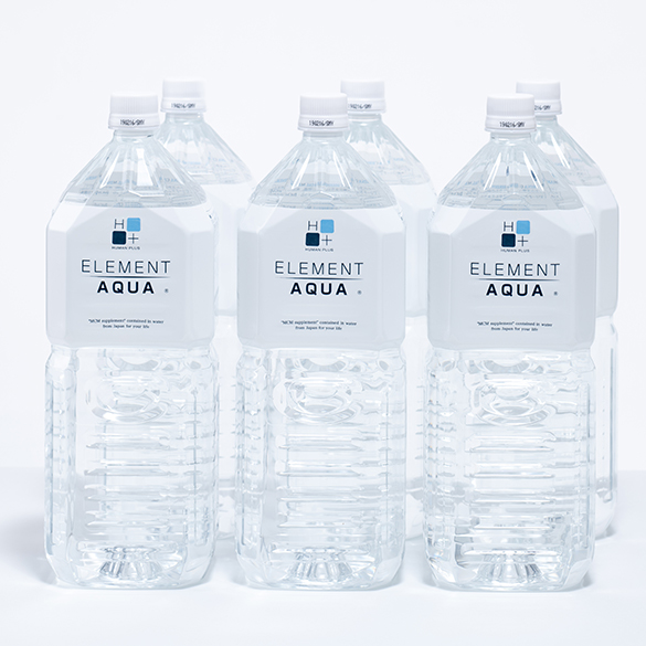 【定期購入】高機能性飲料水 エレメントアクア 2L×6本