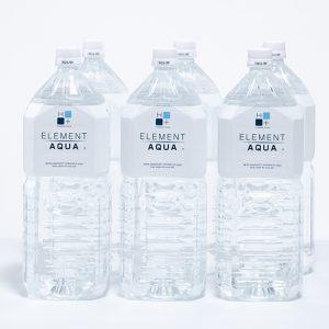 高機能性飲料水 エレメントアクア 2L 6本入り
