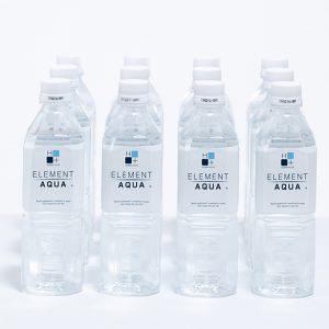 【定期購入】 高機能性飲料水 エレメントアクア 500ml×12本